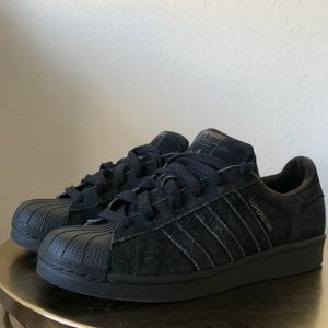 Adidas Superstar Black Shoes